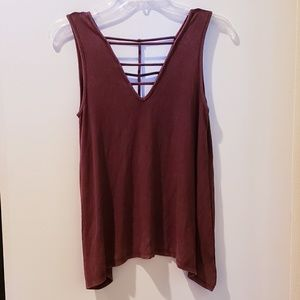 American Eagle soft and sexy rib tank. XS